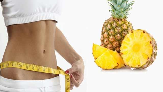 Le régime à base d'ananas